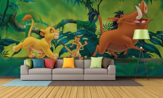 Lion King paper wallpaper | Homewallmurals